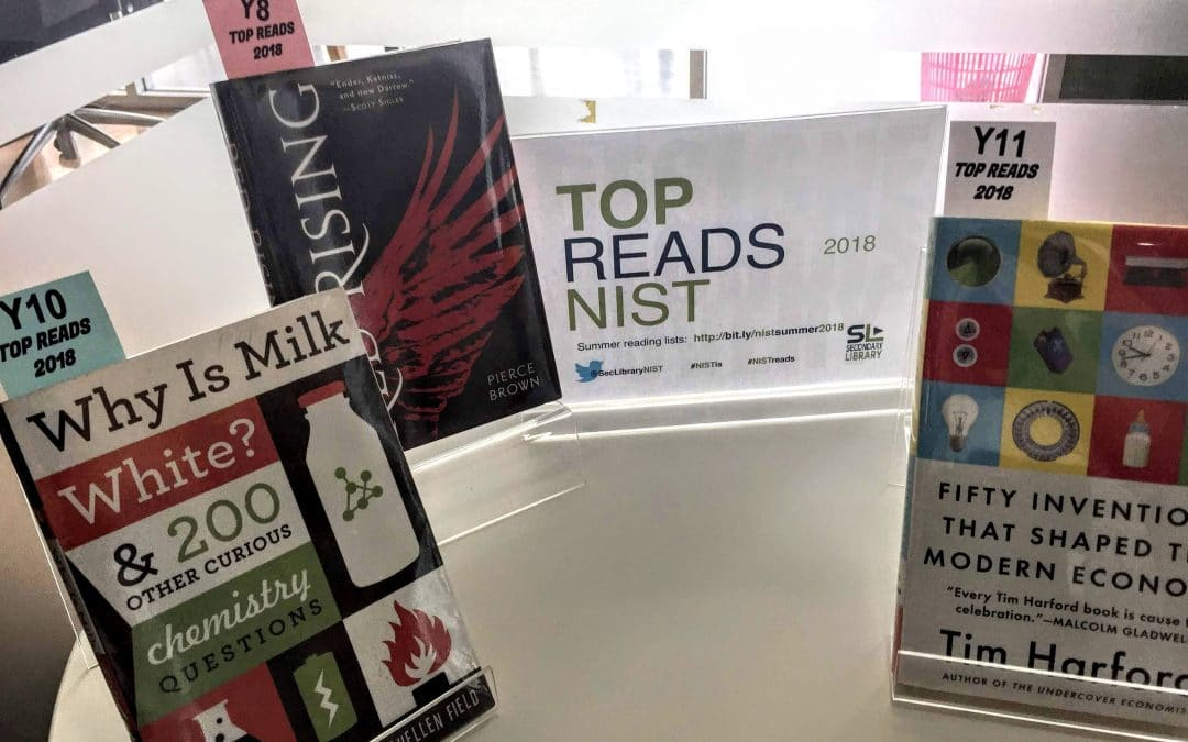 Summer Reading and NIST Top Reads 2018