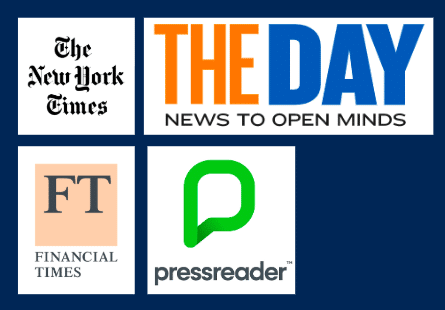 What online newspapers do we have access to?
